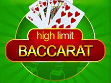 Азартный онлайн автомат с выводом денег High Limit Baccarat